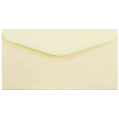 JAM Paper® Monarch Envelopes, 3 7/8 x 7 1/2, Ivory, 250/Box (40931170C)