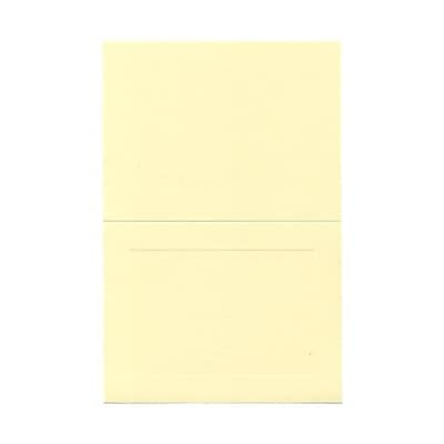 JAM Paper® Blank Foldover Cards, A7 Size, 5 x 6 5/8, Ivory Panel, 500/Pack (309943B)
