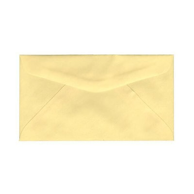 JAM Paper® #6 3/4 Commercial Envelopes, 3 5/8 x 6 1/2, Canary Yellow, 500/Box (357617061I)