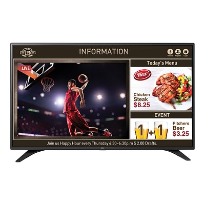 LG SuperSign 55LW540S 55 1080p Commercial LED LCD TV, Black