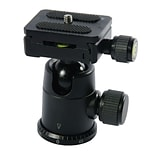 Terra Firma Tripod Head  Compact All Metal Ball Head w/Square QR Plate Tripod Head (T-BH250)