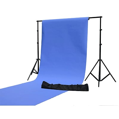 Zuma Background Stand 11x10 Ft Black Background Stand (Z-BG2000)
