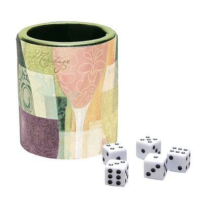 LANG Bottles & Glasses Dice Cup (2182000)