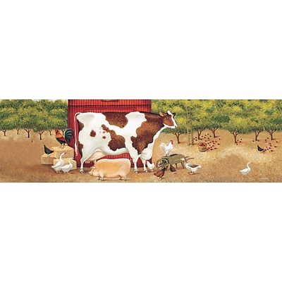LANG Apple Orchard 750 Piece Panoramic Puzzle (5041011)