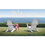 LANG Seaside Welcome Door Mat (3210099)