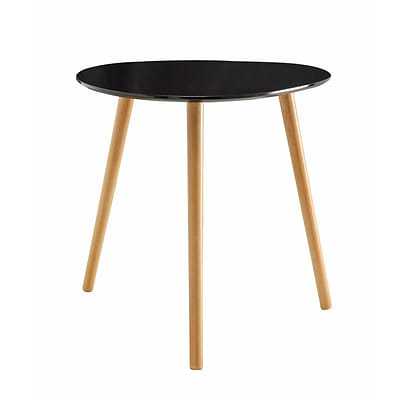 Convenience Concepts Inc. Oslo End Table End Black (203585BL)