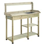 Convenience Concepts Inc. Deluxe Potting Bench Natural Fir (G10458N)