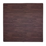 Tadpoles 12 Piece Wood Grain Playmat; Cherry