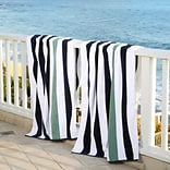 Laguna Beach Towel Company Plush Cabana Beach Towel (Set of 2); Old Glory