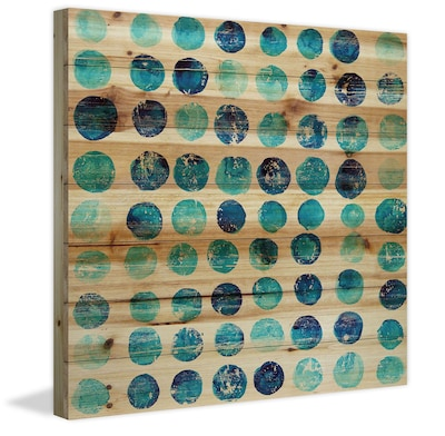 Marmont Hill 'Blue Dot Stamps' Painting Print