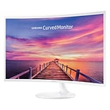 Samsung LC32F391FWNXZA 32 Curved LED Monitor, High Glossy White