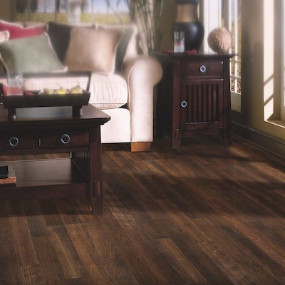 Shaw Floors Natural Values Ii 8'' X 48'' X 6.35mm Cherry Laminate In Black Canyon Cherry