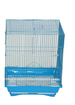 YML Flat Top Small Parakeet Cage w/