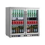 Kingsbottle KBU-56C-SS Undercounter Beverage Cooler Stainless Steel