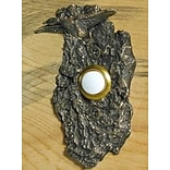 TimberBronze53,LLC Goose Doorbell Button; Traditional Patina