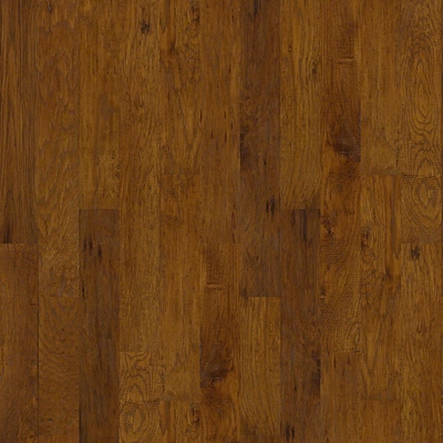 Anderson Floors Hickory Forge 5'' Engineered Hickory Hardwood Flooring In Golden Ore
