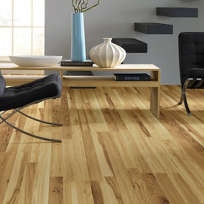 Shaw Floors Natural Values Ii Plus 8'' X 48'' X 8mm Hickory Laminate