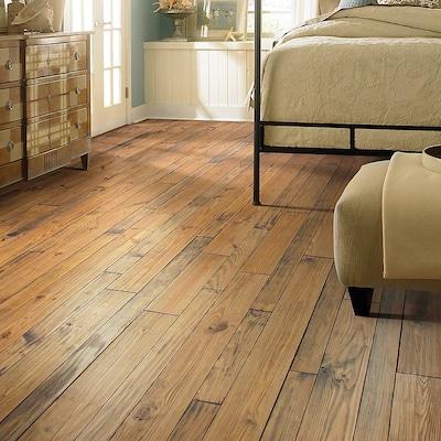 Anderson Floors Elements Random Width Solid Pine Hardwood Flooring In Fossil