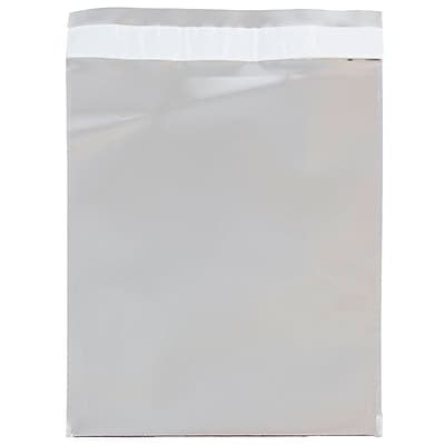 JAM Paper® Foil Envelopes with Self Adhesive Closure, 6 1/4 x 7 7/8, Open End, Silver, 100/pack (01323303B)