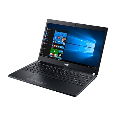 Acer® TravelMate P6 TMP648-M-59Q7 14 Notebook, LCD, Intel Core i5-6300U, 256GB, 8GB, Windows 7 Professional, Black