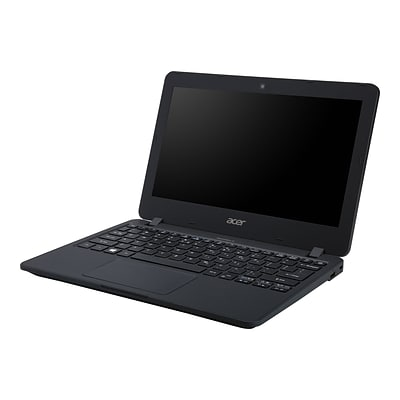 Acer® TravelMate B TMB117-M-C9GH 11.6 Notebook, LCD, Intel Celeron N3160, 128GB, 4GB, Windows 10 Pro, Black