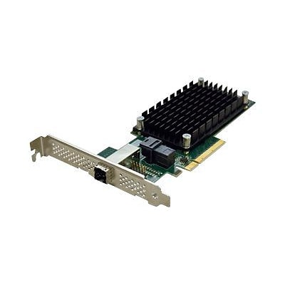 ATTO 4 Port External/4 Port Internal 12 Gbps SAS/SATA to PCIe 3.0 Host Bus Adapter (ESAH-1244-000)