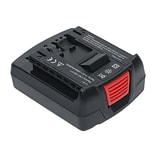 Battery Technology Lithium-Ion Power Tool Battery, 1500 mAh, Black (BOS-BAT611-1.5AH)