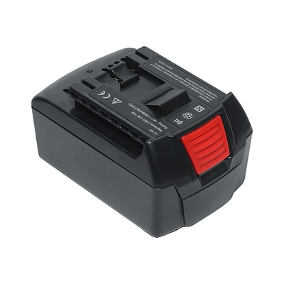 Battery Technology Lithium-Ion Power Tool Battery, 4000 mAh, Black (BOS-BAT620-4.0AH)