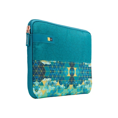 Case Logic® Hayes Green/Blue Polyester Sleeve for 11.6 Laptop (HAYS111KALEIDOSCOPE)