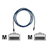 ClearLinks™ C6-BL-100-M 100 RJ-45 to RJ-45 Male/Male Cat6 Molded Snagless Patch Cable, Blue