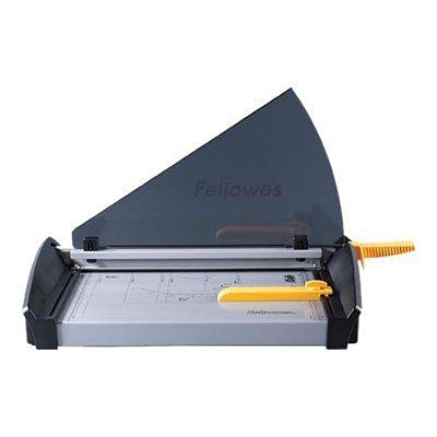 Fellowes® Plasma™ Metal Paper Cutter, Black/Silver (5411002)