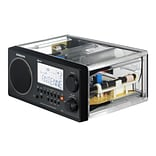 Sangean WR-2CL FM/AM Stereo Digital Tuning Portable Receiver, Clear