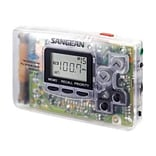 Sangean DT-110CL FM/AM PLL Stereo Synthesized Pocket Receiver, Clear