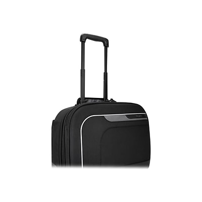 Targus® Mobile Elite Black/Gray Checkpoint-Friendly Overnight Roller Carrying Case with SafePort Sling (TBR028)