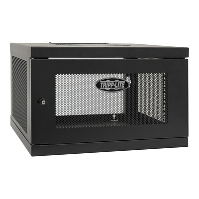 Tripp Lite SRW6UKD SmartRack 6U Wall-Mount Rack Enclosure Server Cabinet Knockdown