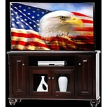 AmericanHeartland Deluxe 57 TV Stand; Light Blue