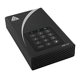 Apricorn Mass Storage 8TB 5 Gbps External Hard Drive, Black (ADT-3PL256-8000)