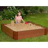 Frame It All 4 W Square Sandbox