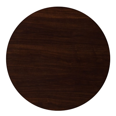 Flash Furniture 36 Round Resin Walnut Table Top (TP-WAL-36RD-GG)