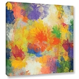 ArtWall Air Of Happiness by Irena Orlov Painting Print on Wrapped Canvas; 18 H x 18 W x 2 D