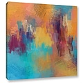 ArtWall Improvisation by Irena Orlov Painting Print on Wrapped Canvas; 18 H x 18 W x 2 D