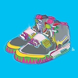 iCanvas Technodrome1 Nike Air Yeezy 2s Graphic Art on Wrapped Canvas; 26 H x 26 W x 1.5 D