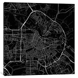 iCanvas Urbanmap Amsterdam Roadway Graphic Art on Wrapped Canvas; 12 H x 12 W x 0.75 D
