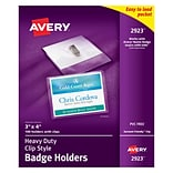 Avery® Photo ID Badge Holders