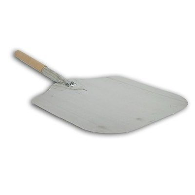 Honey Can Do 12 x 14 Aluminum Pizza Peel with Wood Handle (4431)