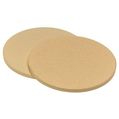 Honey Can Do Old Stone Oven Pizza Stone - 8.5, Set of 2 (4444)