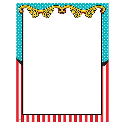 teacher created resources carnival computer paper 50 sheets per