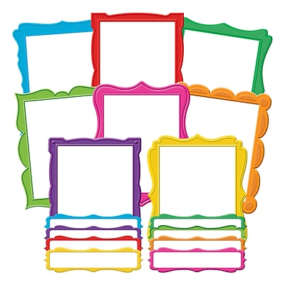 Teacher Created Resources Fancy Frames Bulletin Board (TCR5628)