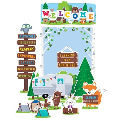 Creative Teaching Press Woodland Friends Welcome Bulletin Board Set (CTP7069)
