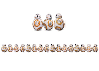 "Eureka 37' x 3.25"" Star Wars™ BB-8 Extra Wide Die-Cut Deco Trim® (EU-845384)"
